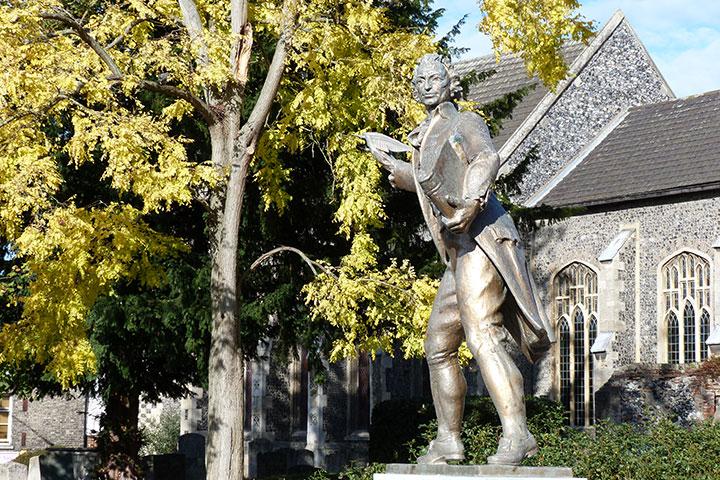 Thomas Paine Statue