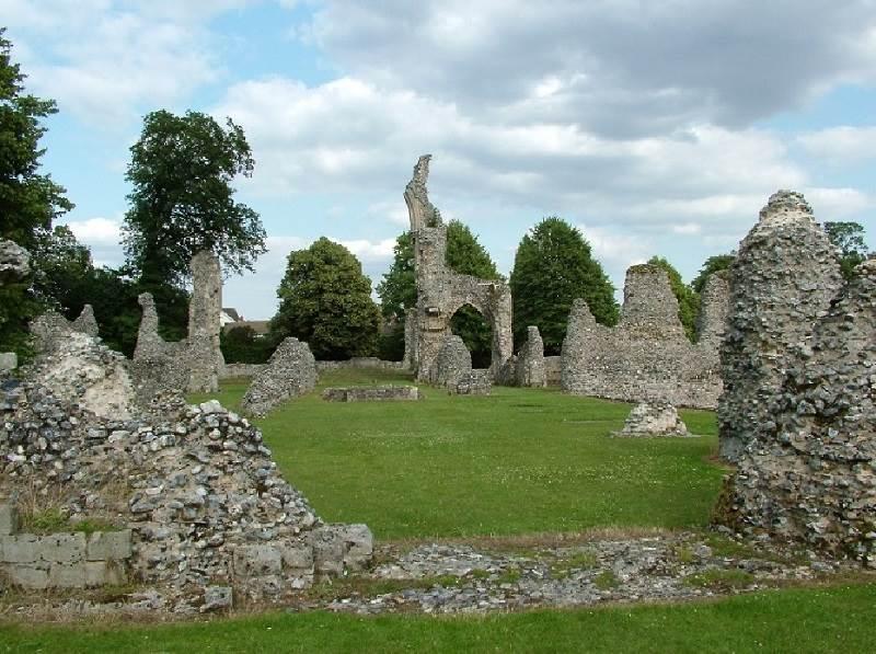 Cluniac Priory in Thetford