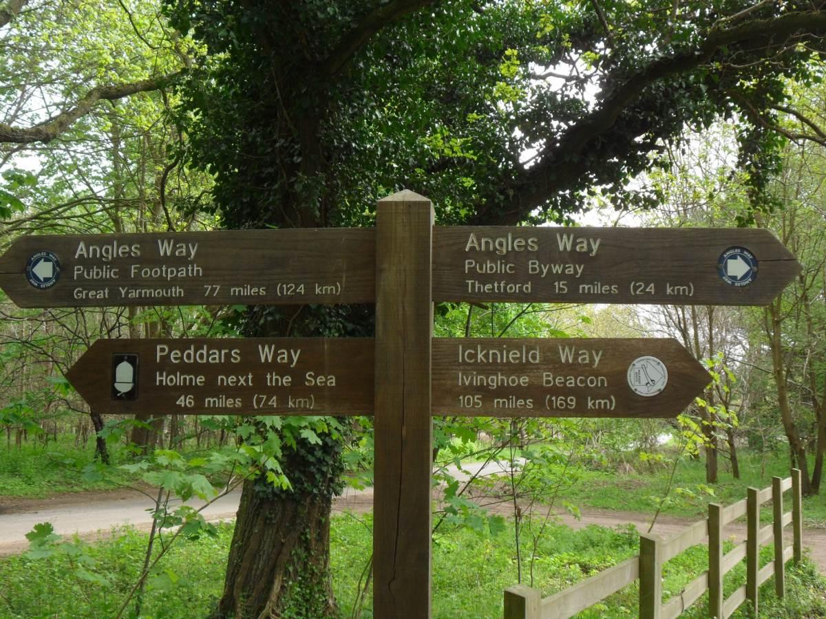 Angles Way at Knettishall Heath
