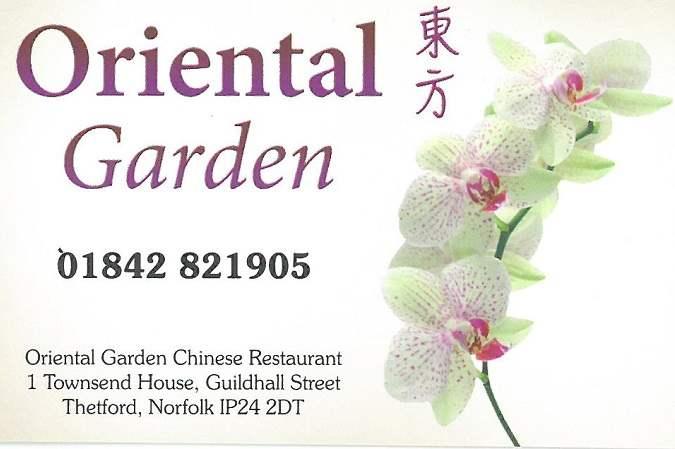 Oriental Garden Chinese Restaurant Thetford