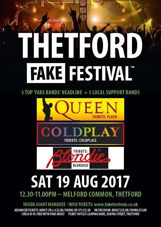 Thetford Fake Festival 2017