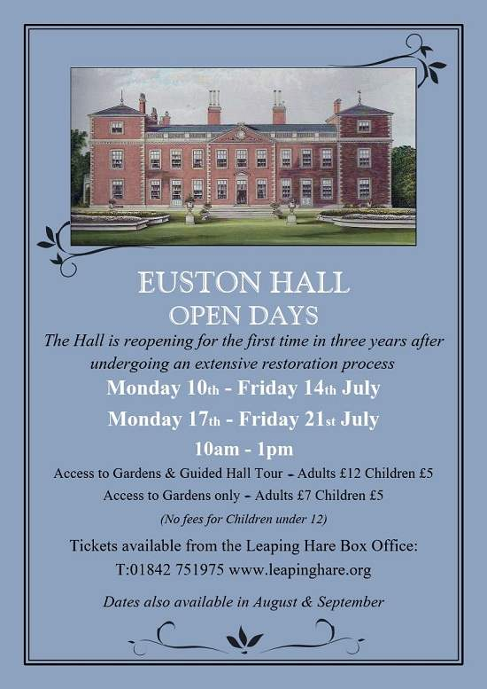 Euston Hall Open Days