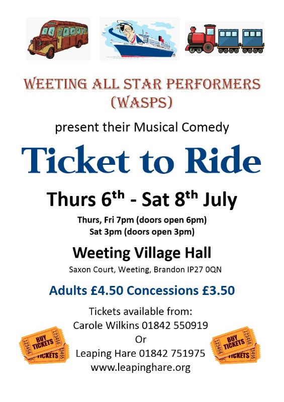 weeting-all-star-performers-ticket-to-ride-poster