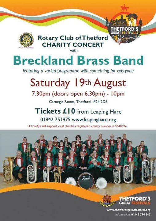 Breckland Brass Band Concert