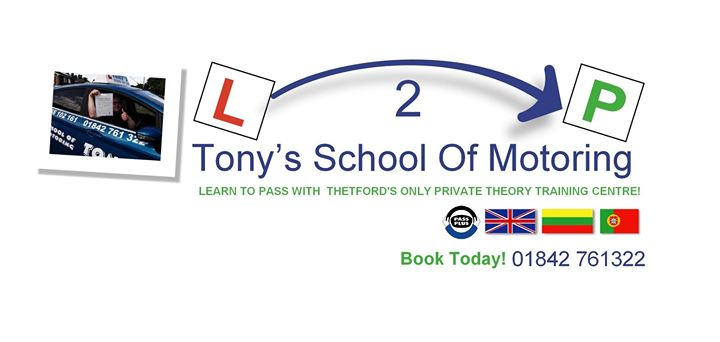 Tony's School Of Motoring