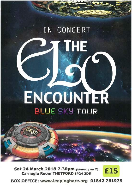 ELO Encounter Live @ The Carnegie