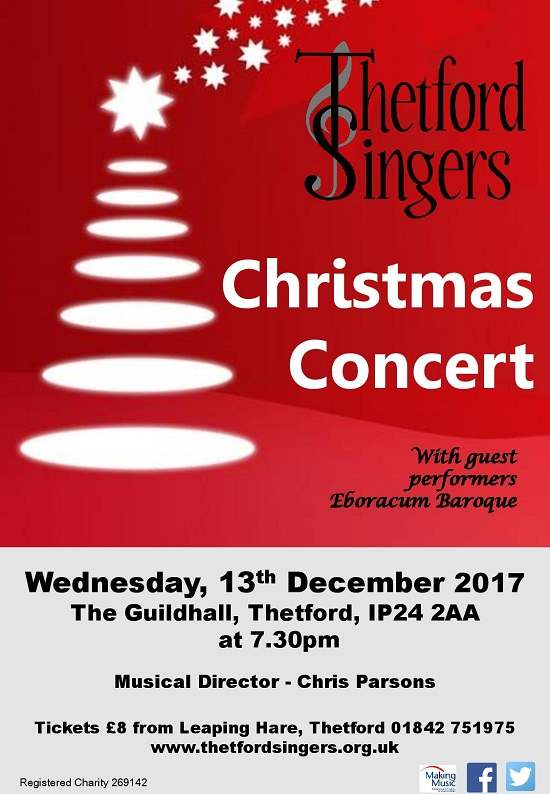 Thetford Singers Christmas Concert