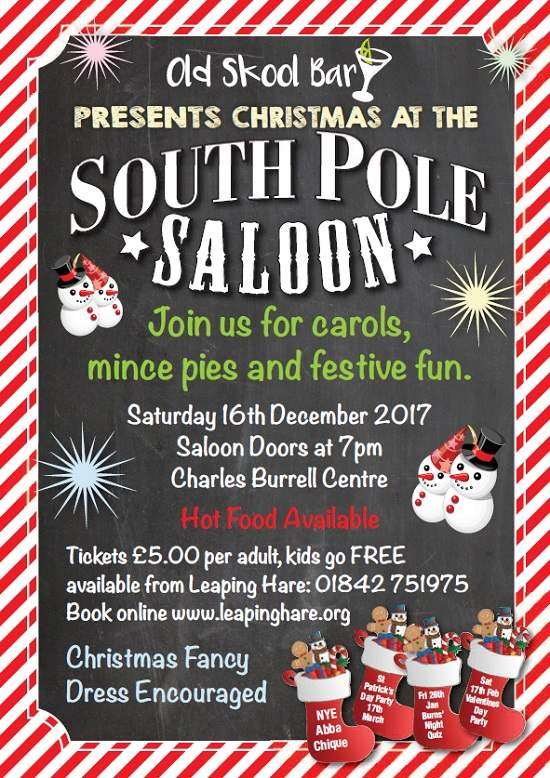 Christmas at South Pole Saloon
