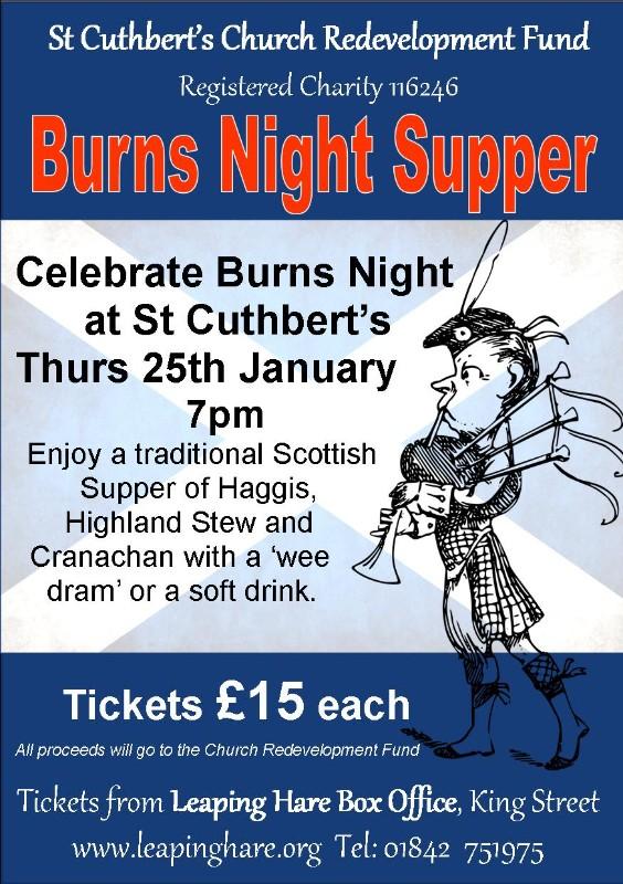 St-Cuthberts-Burns-Night-A4-poster