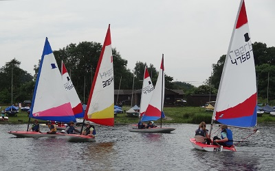 Start of SESCA's 2018 sailing season