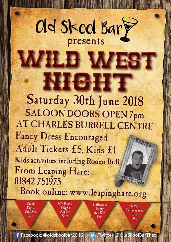 old-skool-bar-wild-west-night-poster