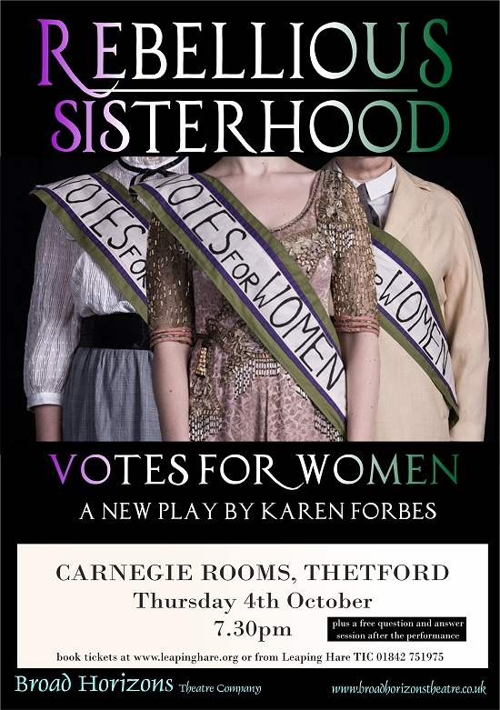 Rebellious Sisterhood - Votes For Women