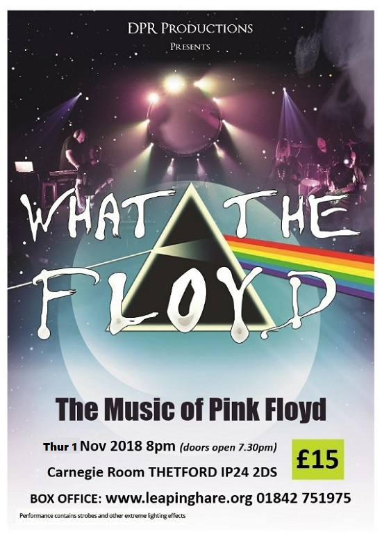 What The Floyd: The Music of Pink Floyd - EXTRA DATE!