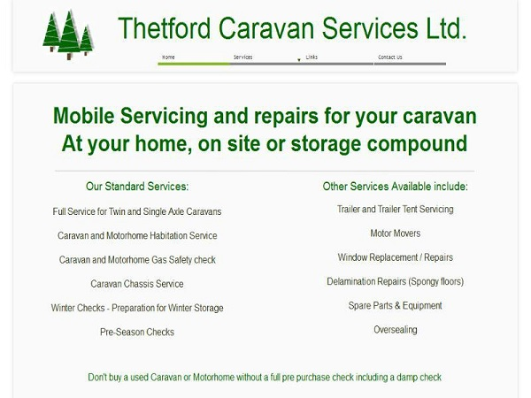 Thetford Caravan Services Ltd