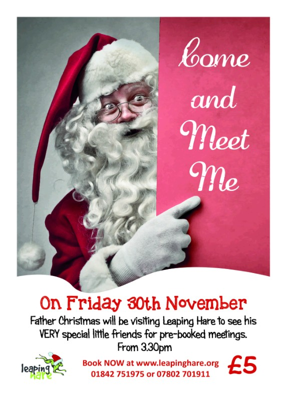 Come and Meet Father Christmas - For One Night Only