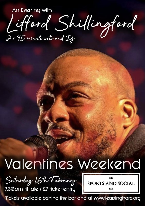 Valentines Evening with Lifford Shillingford