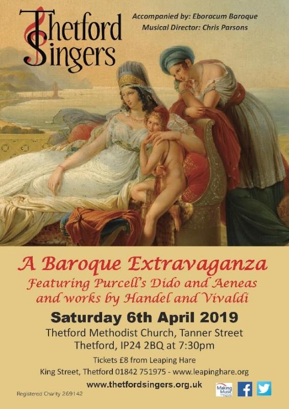 Thetford Singers - A Baroque Extravaganza