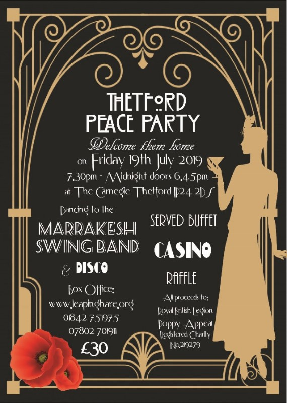 Thetford Peace Party - Welcome Them Home