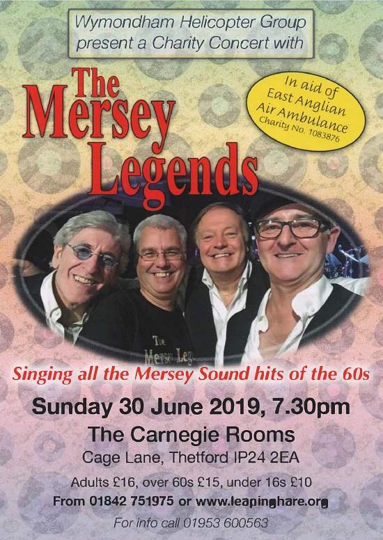 The Mersey Legends Live @ The Carnegie