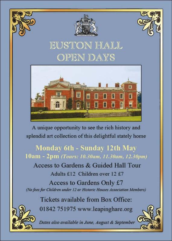 Euston Hall Open Days - May 2019