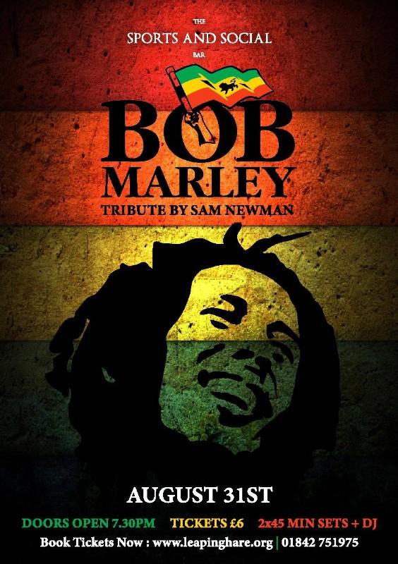Sam Newman - Bob Marley Tribute