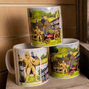 leaping hare shop thetford mug