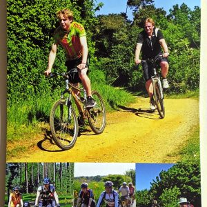 Leaping Hare Shop Goldeneye Cycling Map Suffolk Thetford